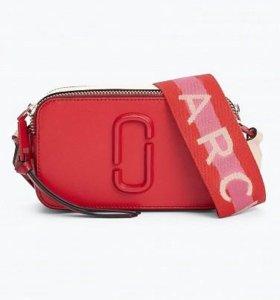 Сумка MARC JACOBS Snapshot Small Bag Poppy Red