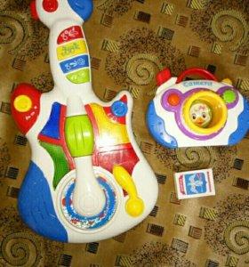 Развивающие, музыкальные игрушки