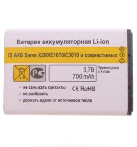 Аккумулятор тип AB463446BU новый для Samsung