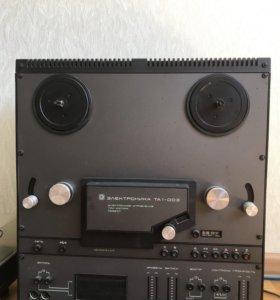 Катушечный Магнитофон Электроника ТА1-003