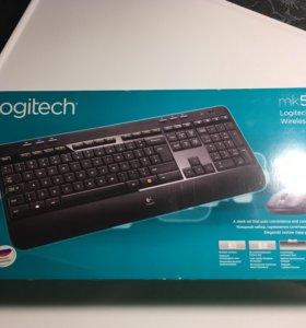 Клавиатура + мышка Logitech Wireless Combo mk520