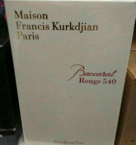 FRANCIS KURKDJIAN BACCARAT ROUGE540