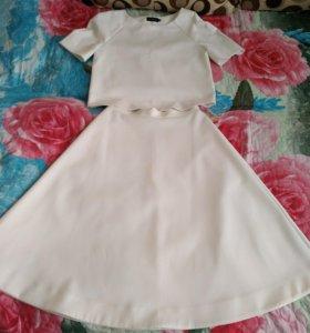 Комплект юбка с топом