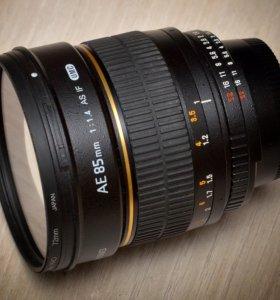 Samyang 85\1,4 Nikon