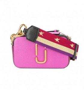 Сумка MARC JACOBS Snapshot Small Bag Hot Pink