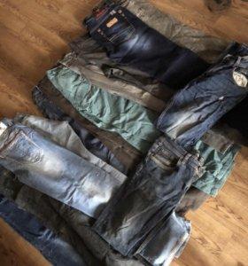 4 пакета мужской одежды