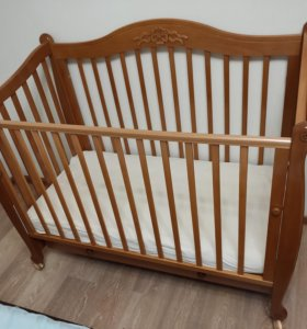Детская кровать Гандылян Моника с матрасом Плитекс