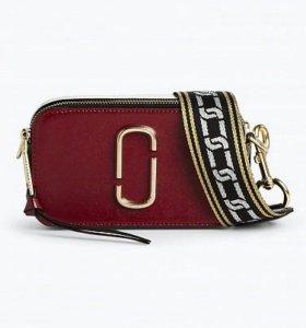 Сумка Marc Jacobs Snapshot Small Bag Deep Maroon