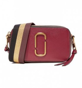 Сумка Marc Jacobs Snapshot Small Bag Burgundy