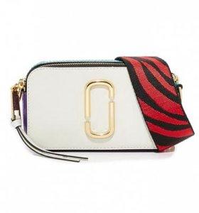 Сумка Marc Jacobs Snapshot Small Bag White
