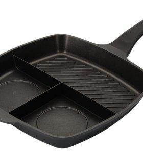 Сковорода секционная Regent inox