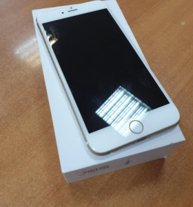 iPhone 6+, 64 гб, золотой