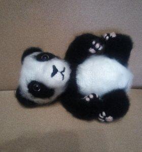 Игрушка панда ручной работы