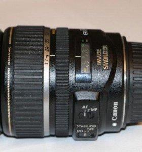 Объектив Canon EF-S 17-85mm f/4.0-5.6 IS USM.