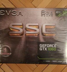 Evga GeForce GTX 1060 - 6 GB SSC (Новая)