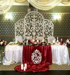 Ширма на свадьбу или др мероприятие