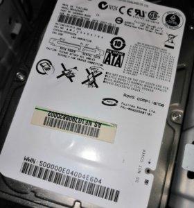 Жесткий диск 2,5' Fujitsu 250 Gb SATA
