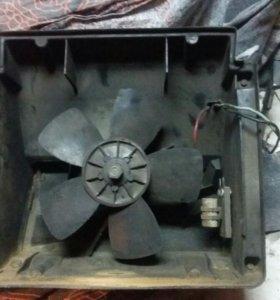 Мотор вентилятор печки отопителя Нива 2121