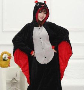 Пижама-кигуруми Летучая мышь