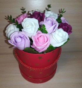 Мыльные розы( букеты)