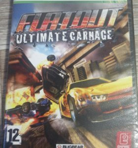 Диск FLATOUT ULTIMATE CARNAGE