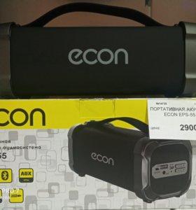 Новая портативная акустика ECON EPS-55