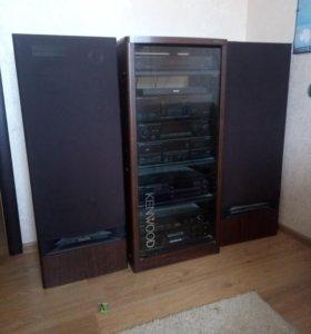 Музыкальный центр Kenwood с колонками Ls-P9300