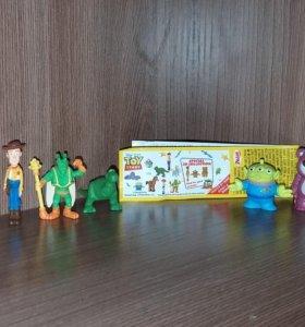 """Шоколадное яйцо Zaini """"Toy story"""" История игрушек)"""
