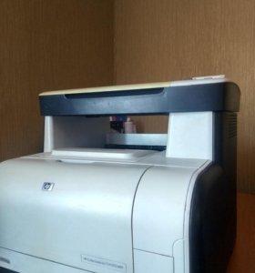 HP cm1312 mfp лазерный цветной мфу