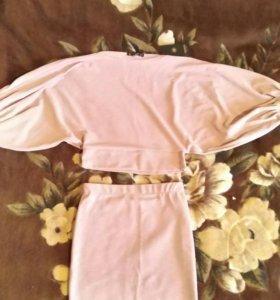 Костюм, юбка, кофта. 42-44 размер