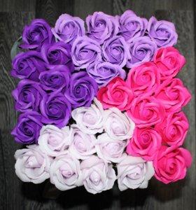 Неувядающие мыльные розы