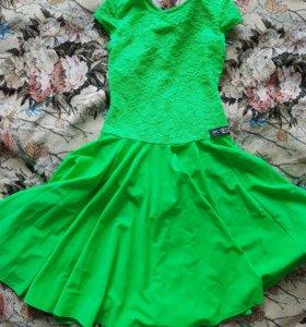Рейтинговое платье для спортивных бальных танцев