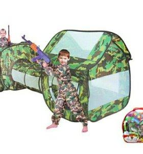 Игровые палатки с тонелем