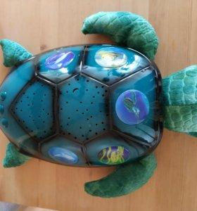 Ночник черепаха-звездное небо