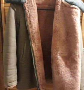 Куртка меховая генеральская из натуральной овчины