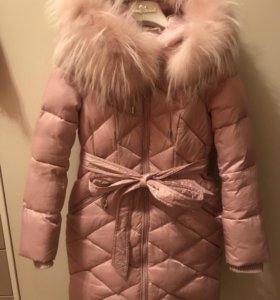 Пальто зимнее Kiwiland 128р
