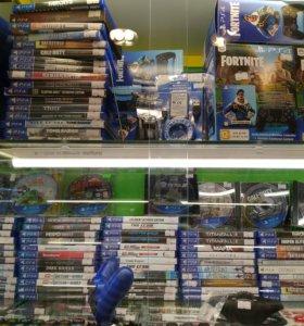 Sony Playstation 4 джойстики аксессуары
