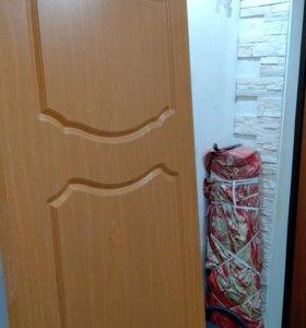 Двери межкомнатные, глухие