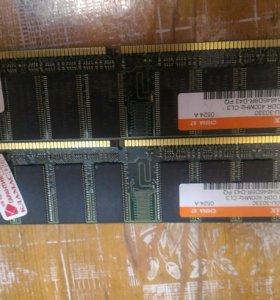 🌲 Модули оперативной памяти 512 MB ddr 400 mhz pc