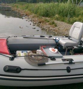 Рама складная под поворотное кресло в лодку пвх