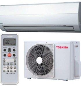 Toshiba on/off кондиционер 25 кв м