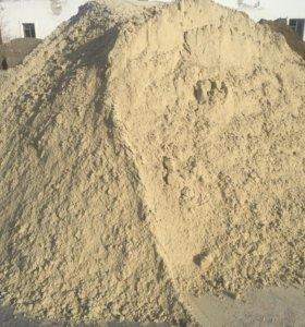 Песок, Щебень, Цемент, Отсев, Бут, Камень