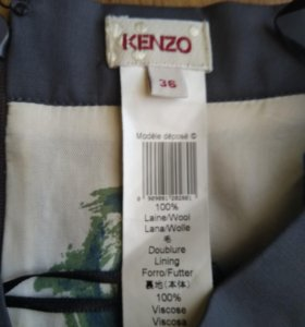 Новая юбка Kenzo 42-44 оригинал