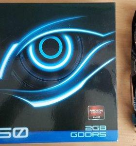 Продам видеокарту радеон 7850 2gb
