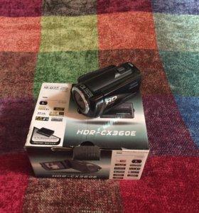 Видеокамера Sony HDR 360 E