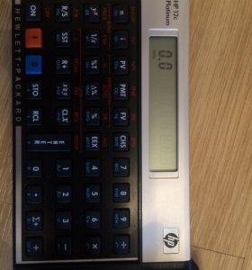 Калькулятор HP 12 c platinum