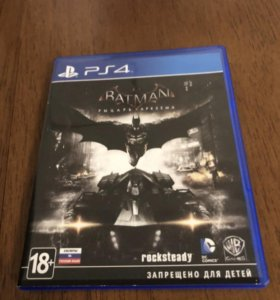 Игра Batman:Arkham knight на PS4
