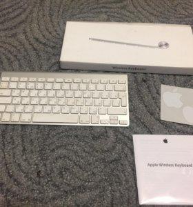 Клавиатура Apple Wireless Keyboard (рус) MC184RU/B