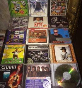 MP3 и CD диски с музыкой и рассказами