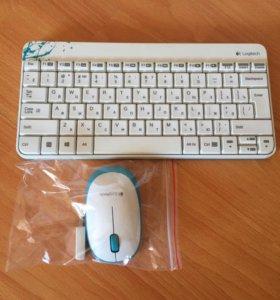 Беспроводная клавиатура с мышью